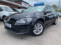 USED 2015 15 VOLKSWAGEN GOLF 1.6 SE TDI BLUEMOTION TECHNOLOGY DSG 5d AUTO 103 BHP FANTASTIC FAMILY CAR WITH 57MPG