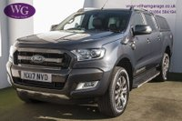 USED 2017 17 FORD RANGER 3.2 WILDTRAK 4X4 DCB TDCI 1d 197 BHP