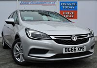 USED 2016 66 VAUXHALL ASTRA 1.4 DESIGN 5d AUTO PERFECT FAMILY HATCHBACK