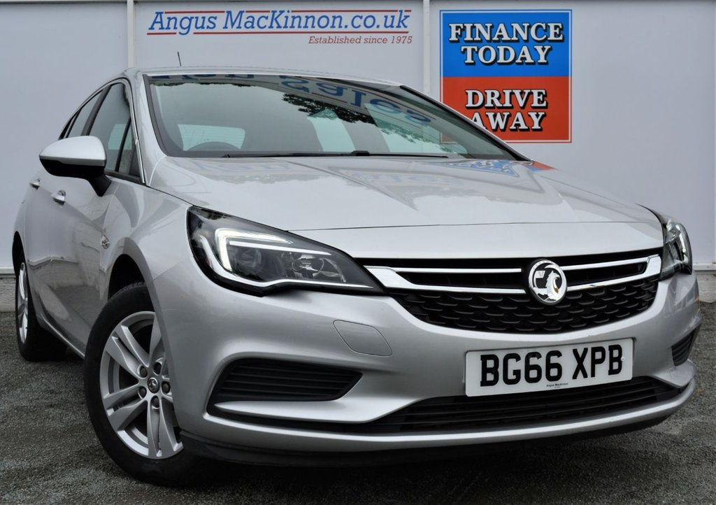 USED 2016 66 VAUXHALL ASTRA 1.4 Petrol DESIGN 5d Hatchback AUTO with 52mpg Recent Service and MOT and Ready to Drive Away Today PERFECT FAMILY HATCHBACK