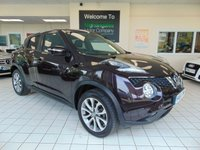 USED 2014 64 NISSAN JUKE 1.5 TEKNA DCI 5d 110 BHP FULL SERVICE HISTORY + SATELLITE NAVIGATION + BLUETOOTH + FULL LEATHER TRIM + HEATED FRONT SEATS + REVERSING CAMERA + DAB RADIO + ALLOYS + LOW CAR TAX + ELECTRIC WINDOWS + PRIVACY GLASS + GREAT MPG