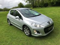 USED 2012 12 PEUGEOT 308 1.6 E-HDI ACTIVE 5d 112 BHP **EXCELLENT FINANCE PACKAGES**£30 PER YEAR ROAD TAX**MOT TO APRIL 2020**