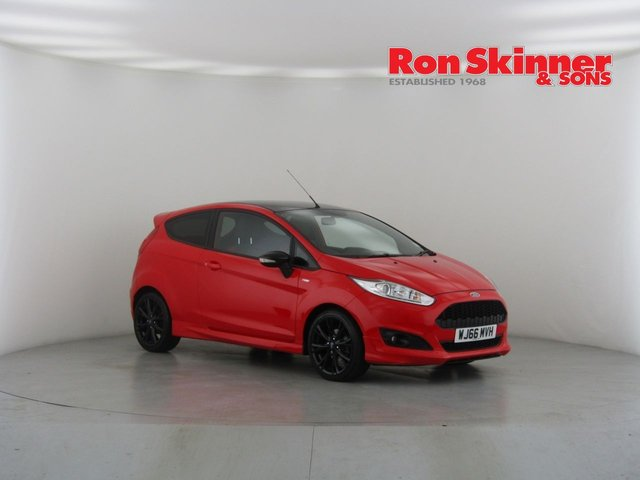View our 2016 54 FORD FIESTA 1.0 ST-LINE RED EDITION 3d 139 BHP