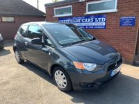 USED 2010 60 MITSUBISHI COLT 1.1 CZ1 3d 75 BHP ONE OWNER, LOW INSURANCE,ONLY 61K MILES