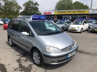 2006 FORD GALAXY 1.9 SILVER TDI 5d 115 BHP IN METALLIC SILVER WITH 129,000 MILES (TRADE CLEARANCE) £1850.00