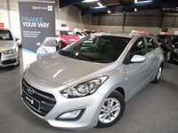 2016 HYUNDAI I30 1.6 CRDI SE BLUE DRIVE 5d 109 BHP £7490.00