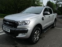USED 2018 18 FORD RANGER 3.2 Wildtrak Double Cab Auto 200ps Wildtrak in excellent condition. 3yr warranty.
