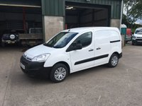 2016 CITROEN BERLINGO 1.6 625 ENTERPRISE L1 HDI 74 BHP £5650.00