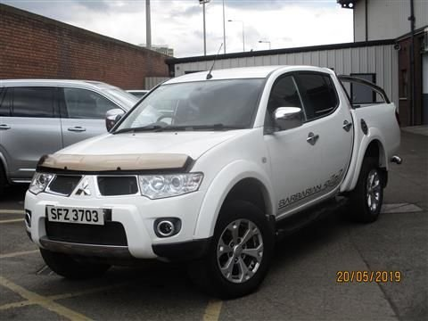 2011 MITSUBISHI L200 2.5 DI-D 4X4 BARBARIAN AUTO 175 BHP (FINANCE AND WARRANTY)