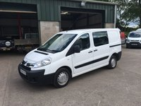 2015 CITROEN DISPATCH 2.0 1200 L1H1 HDI 1d 126 BHP £8250.00