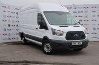 2017 FORD TRANSIT 2.0 350 L3 H3 P/V DRW 1d 129 BHP £14295.00