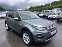 USED 2015 65 LAND ROVER DISCOVERY SPORT 2.0 TD4 HSE 5d AUTO 180 BHP Only 12,500 miles, 7 seats, panoramic sunroof & more