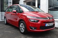 USED 2016 16 CITROEN C4 GRAND PICASSO 1.6 BLUEHDI VTR PLUS 5d 118 BHP STUNNING C4 GRAND PICASSO IN RUBY RED