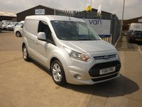 2016 FORD TRANSIT CONNECT 1.6 200 LIMITED PANEL VANd 114 BHP £9495.00