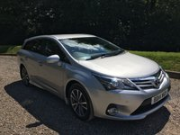 2014 TOYOTA AVENSIS 2.0 D-4D ICON BUSINESS EDITION 5d 124 BHP £7785.00