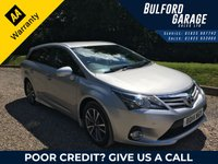 USED 2014 14 TOYOTA AVENSIS 2.0 D-4D ICON BUSINESS EDITION 5d 124 BHP