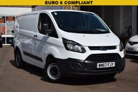 USED 2017 67 FORD TRANSIT CUSTOM 2.0 270 LR P/V 1d 104 BHP