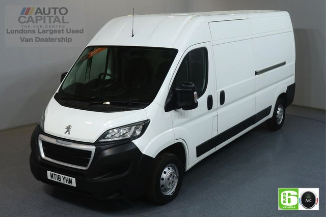 2018 18 PEUGEOT BOXER 2.0 BLUE HDI 335 L3H2 PROFESSIONAL 130 BHP EURO 6 AIR CON MANUFACTURER WARRANTY UNTIL 29/05/2021