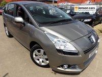 2010 PEUGEOT 5008 1.6 HDI SPORT 5d 110 BHP £4990.00