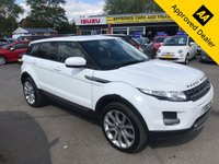 USED 2012 62 LAND ROVER RANGE ROVER EVOQUE 2.2 TD4 PURE 5d 150 BHP IN METALLIC WHITE WITH A FULL SERVICE HISTORY WITH 93000 MILES APPROVED CARS AND FINANCE ARE PLEASED TO OFFER THIS LAND ROVER RANGE ROVER EVOQUE 2.2 TD4 PURE 5 DOOR 150  BHP IN METALLIC WHITE WITH A FULL SERVICE HISTORY AND ONLY 93000 MILES. THIS VEHICLE HAS GOT A GREAT SPEC SUCH A FULL LEATHER INTERIOR WITH HEATED SEATS (FRONT) CLIMATE CONTROL, CRUISE CONTROL, MULTI FUNCTIONING STEERING WHEEL, ALLOYS, AIR CON, BLUETOOTH AND MUCH MORE. VERY POPULAR AND DESIRABLE VEHICLE IN A BEAUTIFUL METALLIC WHITE WITH LOW MILEAGE FOR THE AGE OF THE VEHICLE. FOR FURTHER