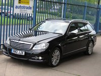 2012 MERCEDES-BENZ C CLASS 2.1 C220 CDI BLUEEFFICIENCY ELEGANCE 5d Auto Sat nav Leather Cruise £9000.00