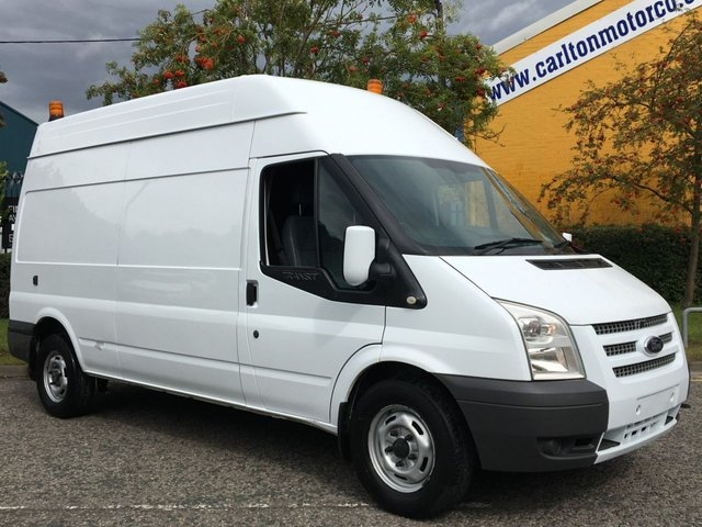 2012 12 FORD TRANSIT T350L TDCi 155 [ MOBILE WORKSHOP ] LWB HI ROOF VAN A/C