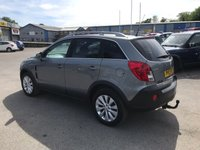 USED 2013 13 VAUXHALL ANTARA 2.2 DIAMOND CDTI S/S 5d 161 BHP IN METALLIC GREY WITH 52,000 MILES AND A FULL SERVICE HISTORY! APPROVED CARS AND FINANCE ARE PLEASED TO OFFER THIS VAUXHALL ANTARA 2.2 DIAMOND CDTI S/S 5 DOOR 161 BHP IN METALLIC GREY WITH 52,000 MILES AND A FULL SERVICE HISTORY AT 8K, 17K, 25K, 34K AND 42K. THIS VEHICLE HAS GOT A MASSIVE SPEC SUCH AS FULL LEATHER INTERIOR WITH HEATED FRONT SEATS, PARKING SENSORS, ELECTRIC SEATS, ALLOY WHEELS, ELECTRIC WINDOWS AND MUCH MORE. THIS VEHICLE HAS BEEN WELL MAINTAINED AND IS IN A IMMACULATE CONDITION NOT A VEHICLE TO BE MISSED, FOR FURTHER INFORMATION PLEASE DO N
