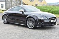 USED 2012 12 AUDI TTS 2.0 TTS TFSI QUATTRO S LINE BLACK EDITION 2d AUTO 268 BHP