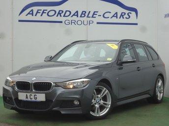 2013 BMW 3 SERIES 2.0 320D M SPORT TOURING 5d 181 BHP £10450.00