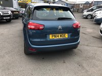 USED 2014 14 CITROEN C4 PICASSO 1.6 E-HDI AIRDREAM VTR PLUS ETG6 5 DOOR AUTO 91 BHP IN BLUE 1 OWNER FULL SERVICE GREAT CONDITION WITH ONLY 45000 MILES. APPROVED CARS AND FINANCE ARE PLEASED TO OFFER THIS CITROEN C4 PICASSO 1.6 E-HDI AIR DREAM VTR PLUS ETG6 5 DOOR AUTO 91 BHP IN BLUE. ABS,POWER STEERING,AIR CON,ALLOY WHEELS,CD PLAYER,METALLIC PAINT,CLIMATE CONTROL,PARKING SENSORS,FULL SERVICE HISTORY AT 11K,19K,25K,32K,40K MILES. GREAT CAR AND PRICED TO SELL. PLEASE CALL 01622-871-555 TO BOOK A TEST DRIVE TODAY