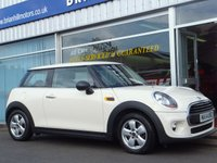 2014 MINI HATCH ONE 1.2  3dr (101bhp) £8395.00