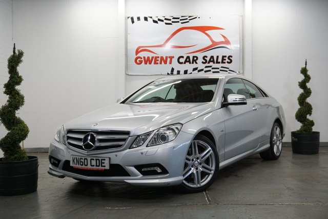 USED 2010 60 MERCEDES-BENZ E CLASS 3.0 E350 CDI BLUEEFFICIENCY SPORT 2d AUTO 231 BHP LOW MILEAGE  GREAT CLEAN EXAMPLE , FULL LEATHER LOW MILEAGE GREAT HISTORY