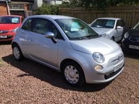 USED 2009 09 FIAT 500 1.2 POP 3d 69 BHP Low mileage example with full service history