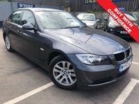 USED 2007 57 BMW 3 SERIES 2.0 318I SE 4d AUTO 128 BHP AUTOMATIC + PARKING SENSORS