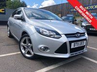 USED 2011 11 FORD FOCUS 1.6 TITANIUM 5d 124 BHP FULL SERVICE HISTORY + PARKING SENSORS