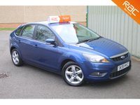 USED 2009 59 FORD FOCUS 1.6 ZETEC 5d 100 BHP FINANCE AVAILABLE - 12 MONTHS MOT