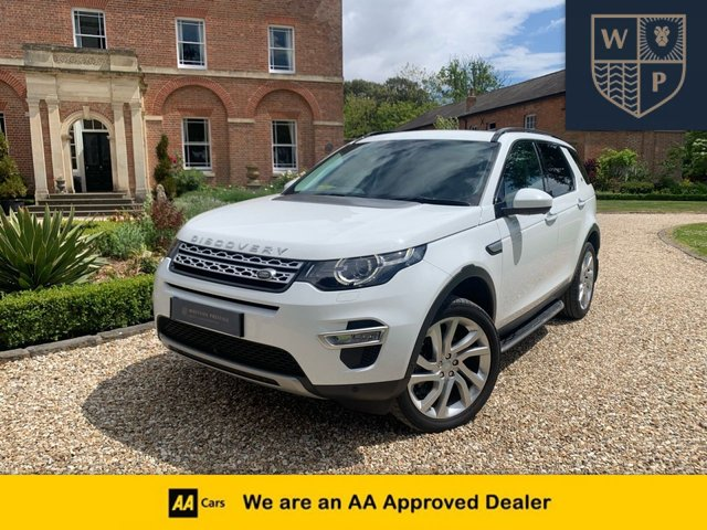 2016 16 LAND ROVER DISCOVERY SPORT 2.0 TD4 HSE LUXURY 5d AUTO 180 BHP