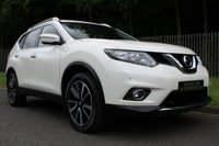 USED 2015 65 NISSAN X-TRAIL 1.6 DCI N-TEC 5d 130 BHP A BIG SPEC 7 SEAT FAMILY 4X4 WITH FULL NISSAN SERVICE HISTORY!!!