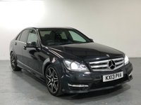 USED 2013 13 MERCEDES-BENZ C CLASS 2.1 C220 CDI BLUEEFFICIENCY AMG SPORT PLUS 4d AUTO 168 BHP TOP SPEC VEHICLE WITH MANY EXTRAS
