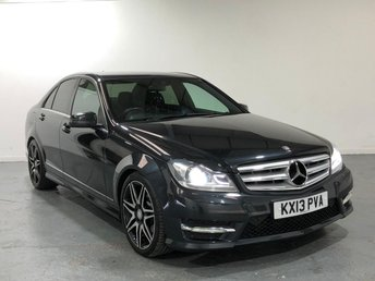 2013 MERCEDES-BENZ C CLASS 2.1 C220 CDI BLUEEFFICIENCY AMG SPORT PLUS 4d AUTO 168 BHP £11395.00
