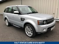 USED 2012 12 LAND ROVER RANGE ROVER SPORT 3.0 SDV6 HSE 5d AUTO 255 BHP 4X4 ESTATE FULL HISTORY, CAMBELTS CHANGED, DETACHABLE TOW BAR