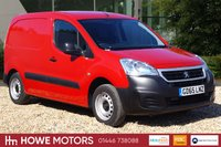 USED 2016 65 PEUGEOT PARTNER 1.6 VTI SE L1 98 BHP 625 5 DOOR DESIRABLE PETROL ONLY 25,963 MILES  VERY RARE EURO6 PETROL VAN IN FIRST CLASS CONDITION