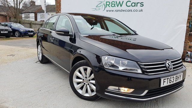 2013 63 VOLKSWAGEN PASSAT 2.0 HIGHLINE TDI BLUEMOTION TECHNOLOGY 2013