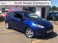 2016 FORD FIESTA 1.2 Zetec 3 door £6399.00