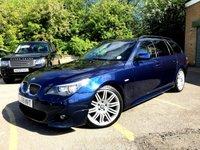 2009 BMW 5 SERIES 3.0 525D M SPORT AUTO BUSINESS EDITION TOURING 5d ESTATE, SAT NAV £7990.00
