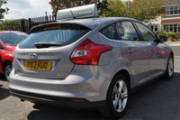 USED 2013 13 FORD FOCUS 1.6 ZETEC TDCI 5d 113 BHP