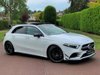 2019 MERCEDES-BENZ A-CLASS 2.0 A35 AMG (Premium) AMG Speedshift DCT 4MATIC 5dr £48995.00