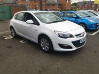 USED 2014 14 VAUXHALL ASTRA 1.6 DESIGN 5d AUTO 115 BHP ONLY 6334 MILES FROM NEW! VERY LOW MILEAGE AUTOMATIC, GREAT CONDITION, MEETS EMISSIONS STANDARDS