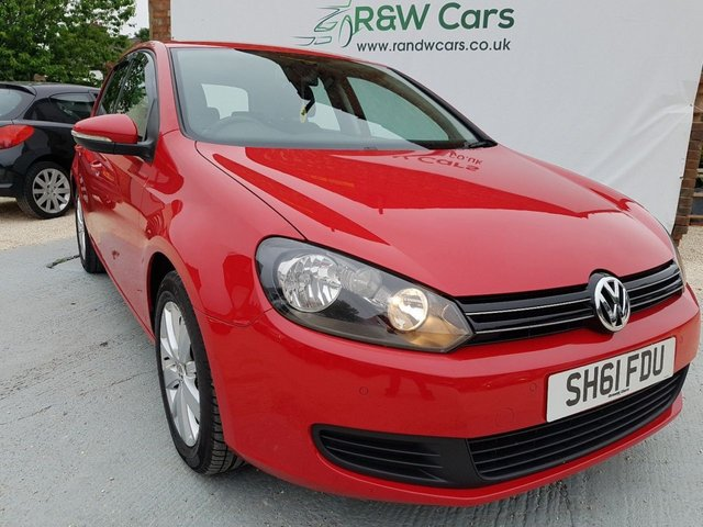 2011 61 VOLKSWAGEN GOLF 1.6 MATCH TDI 2011