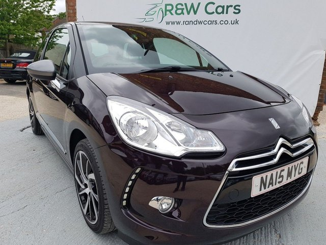 2015 15 CITROEN DS3 1.2 PURETECH DSTYLE PLUS S-S 2015